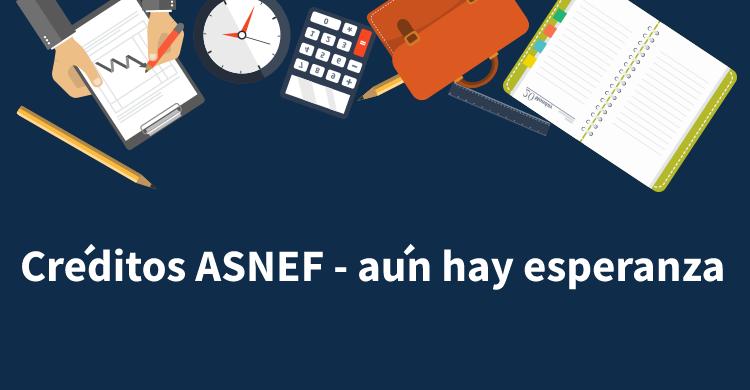 Créditos ASNEF - aún hay esperanza